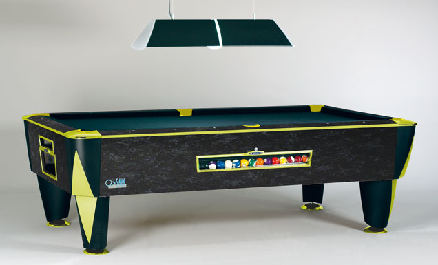 Sam American Pool Table Magno Cosmic