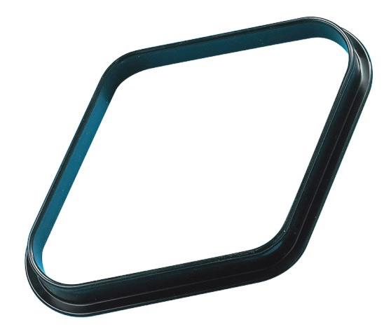 Pool Table Diamond 2 Inches UK Size Black Nylon