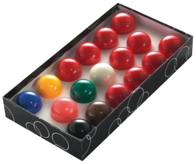 Snooker Ball Set for UK Pool Tables 2 Inch Size