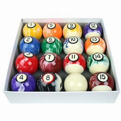 Spots & Stripes Marbleised UK 2 Inch Ball Set
