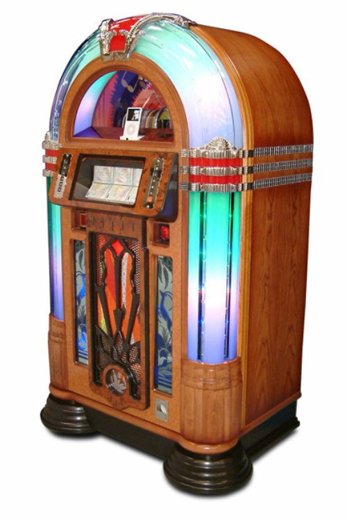 Sound Leisure Jukebox Manhattan Free Standing