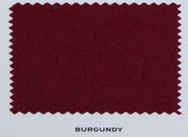 Hainsworth Pool Cloth Burgundy Club Set
