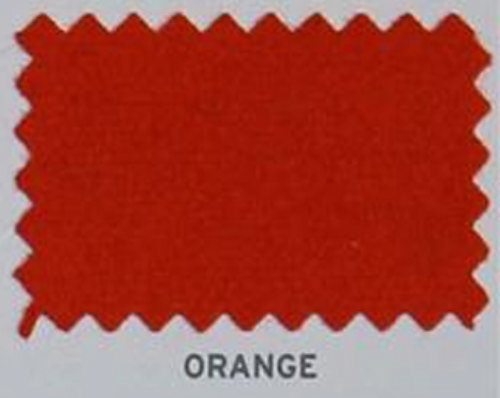 Hainsworth Pool Table Cloth Smart UK Orange