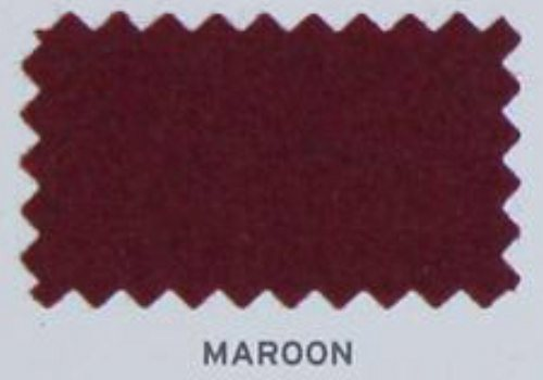 Hainsworth Pool Table Cloth Maroon Smart
