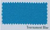 Simonis 9ft Pool Table Cloth Tournament Blue