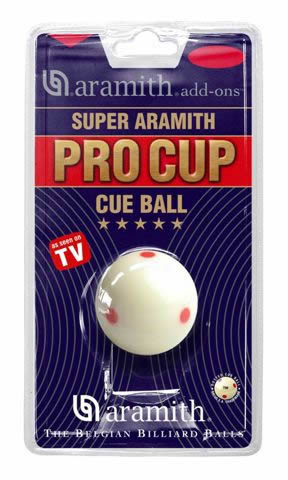 Aramith Pro Cup TV Pool Ball American Size