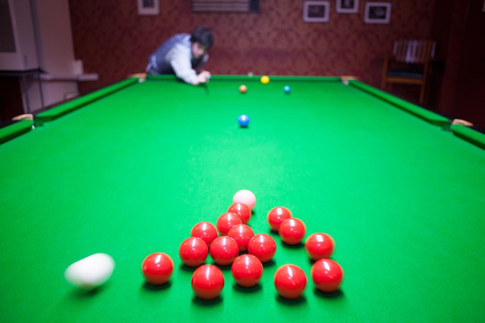 Snooker Table Setup >> Tim Franklin