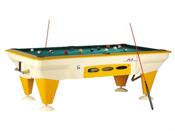 SAM Outdoor Pool Table, Tempo USA 7ft Size
