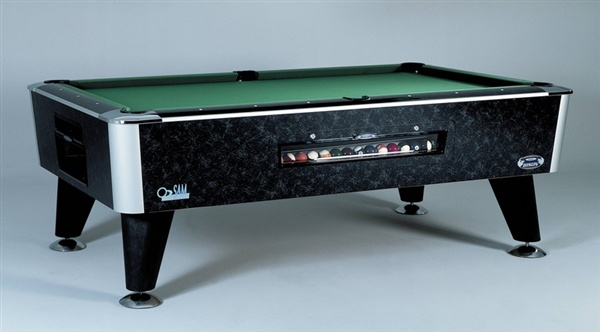 Sam American Pool Table Bison Slate Bed