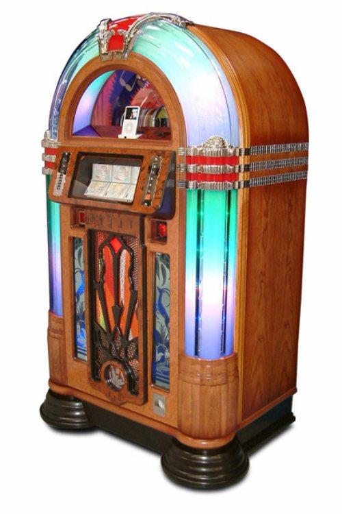 Sound Leisure Jukebox Manhattan Free Standing