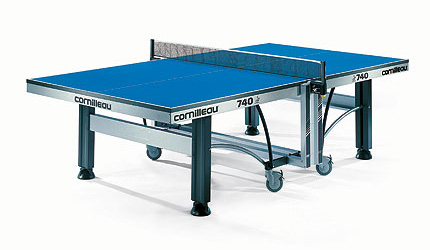 Cornilleau Table Tennis 740 Indoor Blue or Green Table