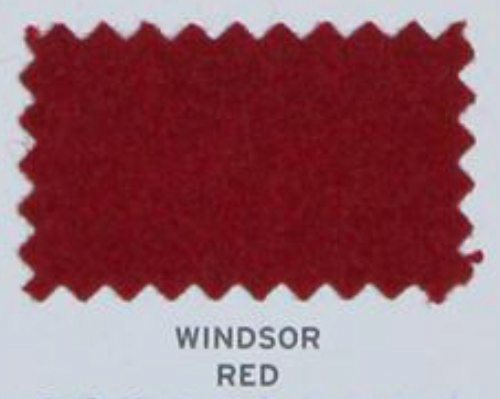 Hainsworth Pool Table Cloth Smart Windsor Red