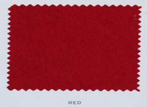 Hainsworth Pool Table Cloth Red Club UK