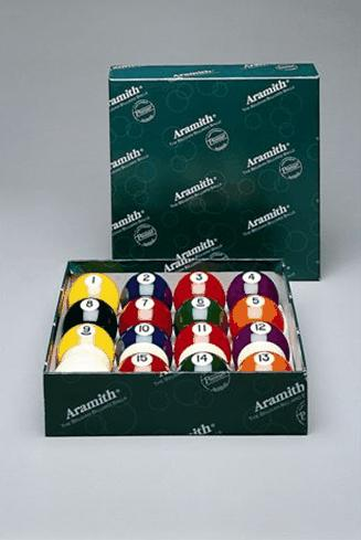Aramith Balls Spots and Stripes American