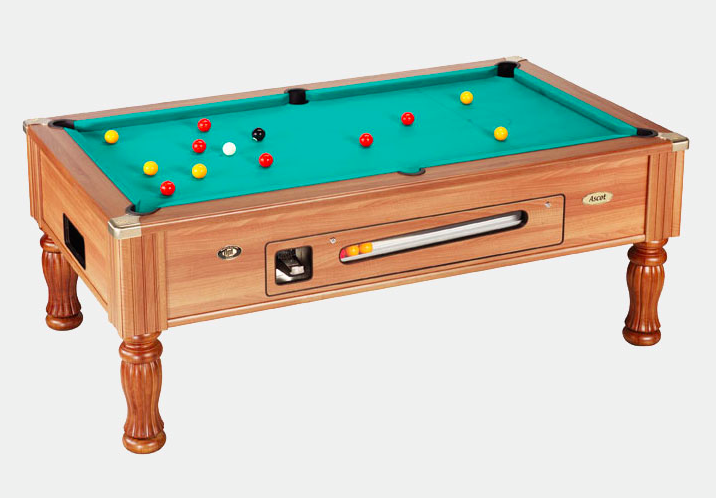 Ascot Coin Operated Professional Slate Pool Table
