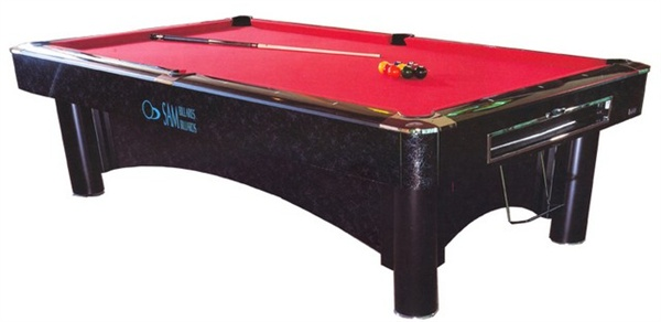 Sam American Pool Table K Steel 2, 8ft, 9ft